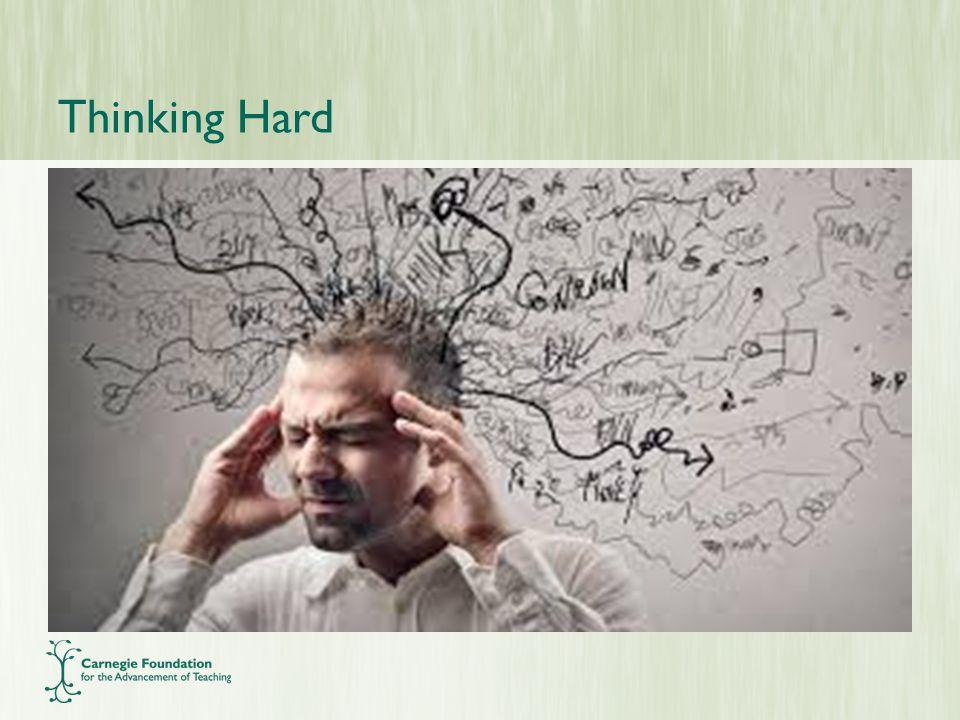 Thinking Hard
