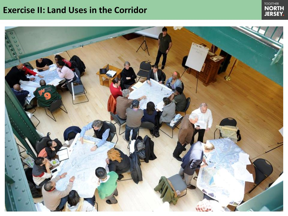 Exercise II: Land Uses in the Corridor