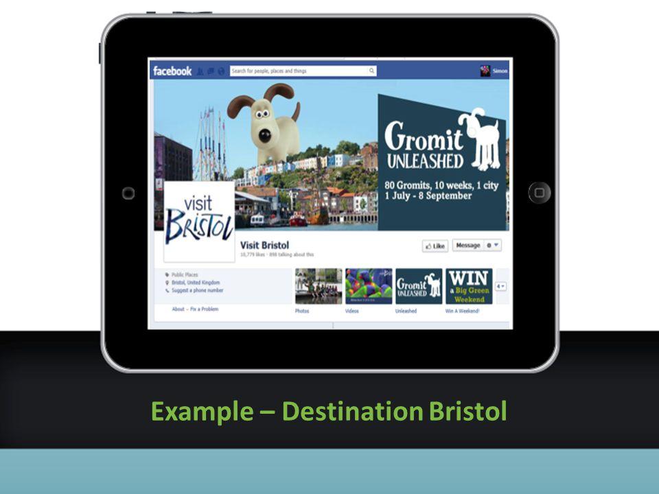 Example – Destination Bristol