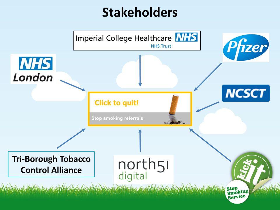 Tri-Borough Tobacco Control Alliance Stakeholders