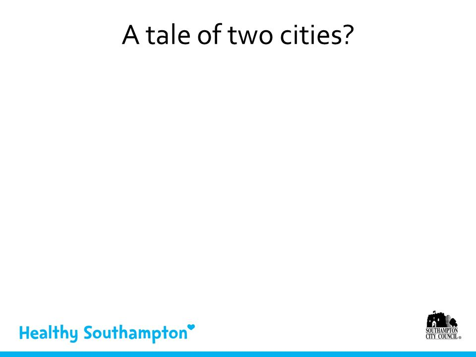 A tale of two cities?