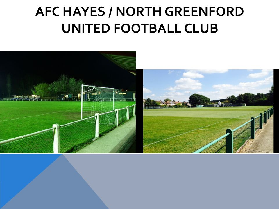 AFC HAYES / NORTH GREENFORD UNITED FOOTBALL CLUB