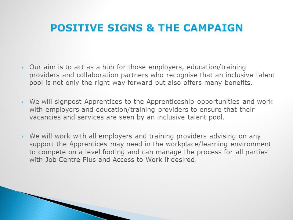  www.deafapprentice.com is the hub for the Inclusive Apprenticeships campaign.