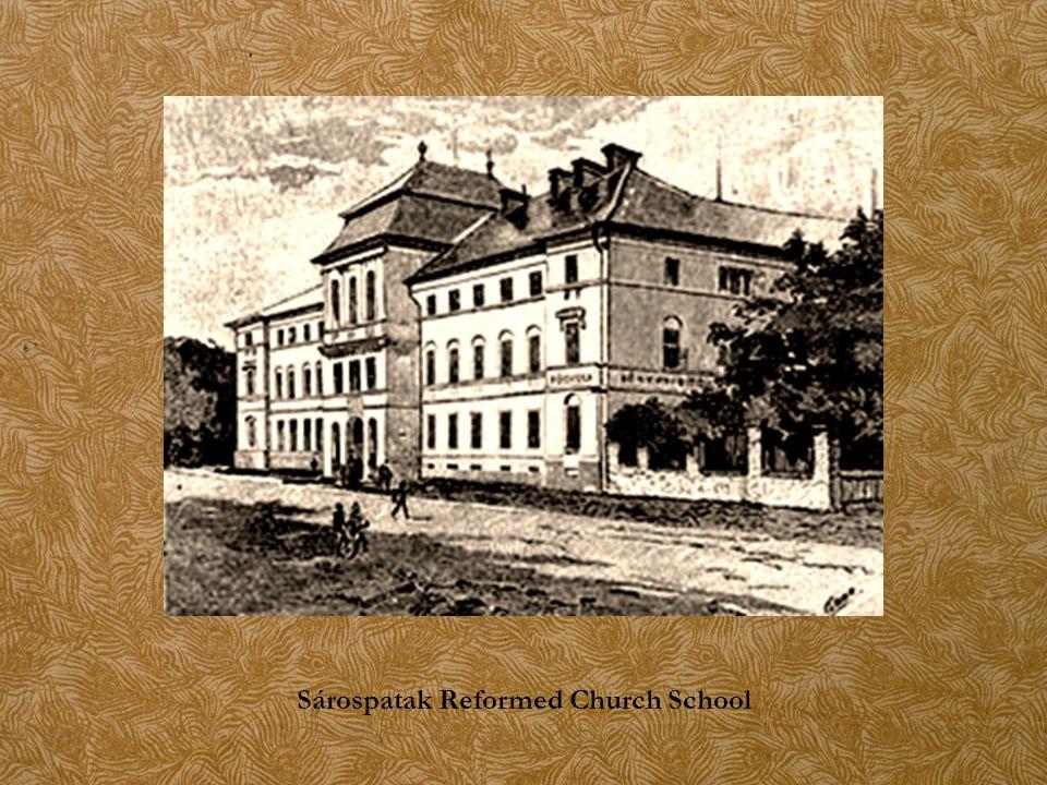 Sárospatak Reformed Church School