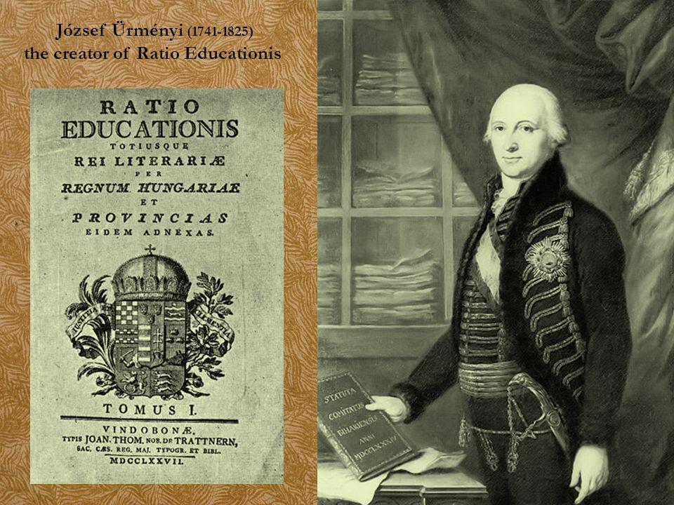 József Ürményi (1741-1825) the creator of Ratio Educationis