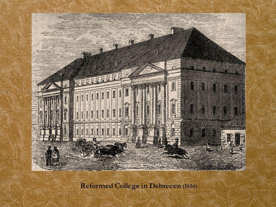 Reformed College in Debrecen (1856)