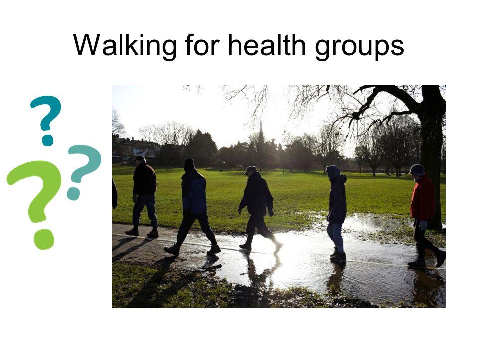 Walking for health groups WLCCG PPG Network presentation Dishley Grange walking group 17