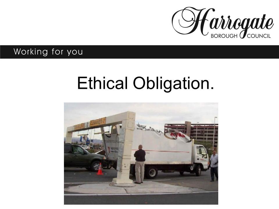 Ethical Obligation.
