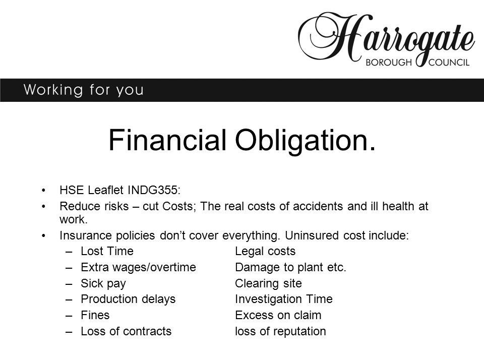 Financial Obligation.