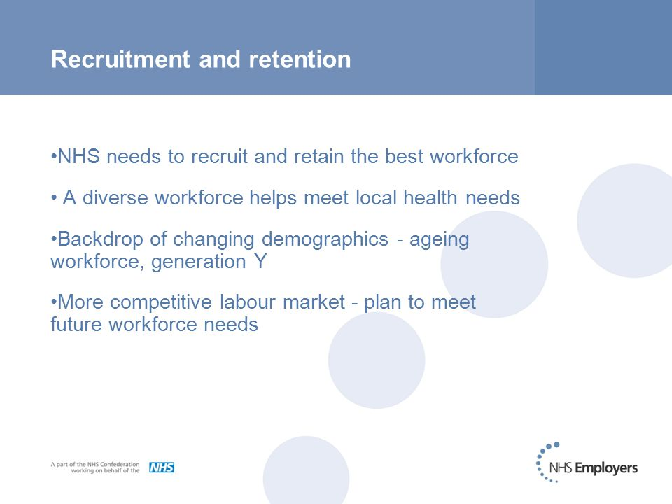 Recruitment, retention and performance Did you know.