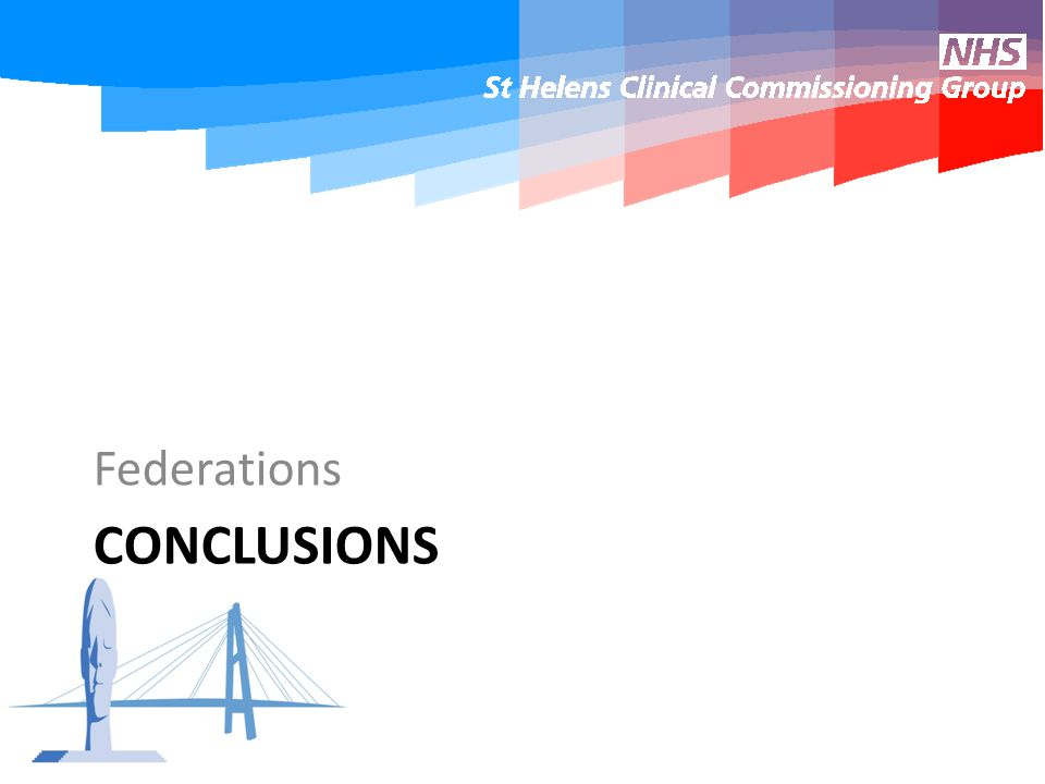 CONCLUSIONS Federations