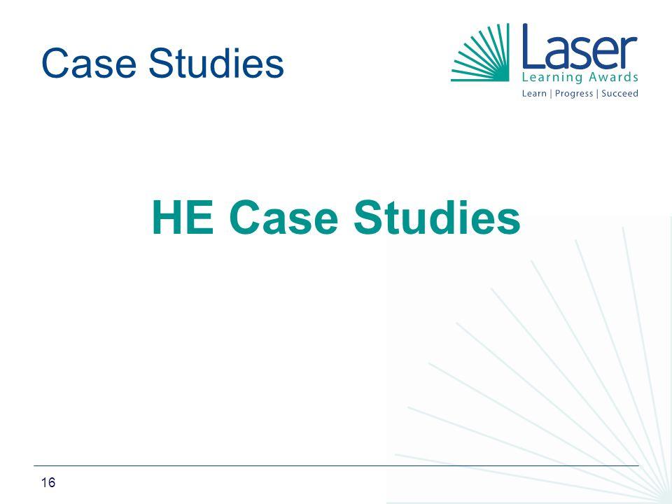 16 Case Studies HE Case Studies