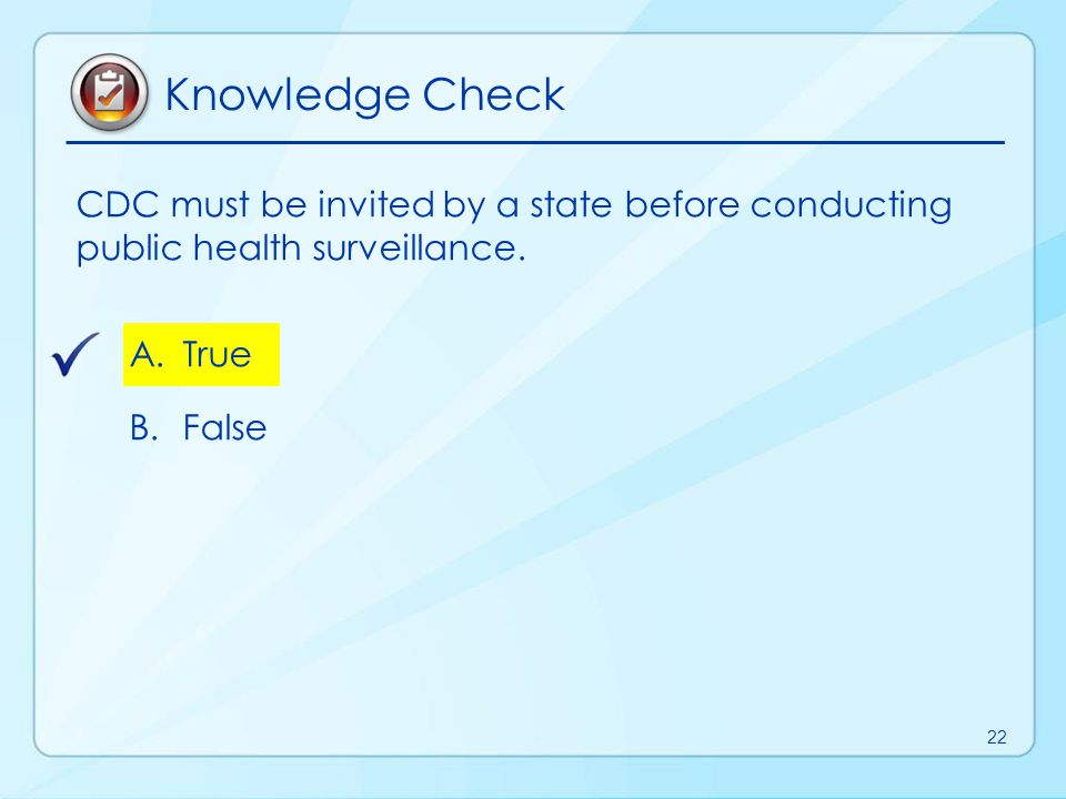 Topic 5 Public Health Surveillance Types and Attributes 23