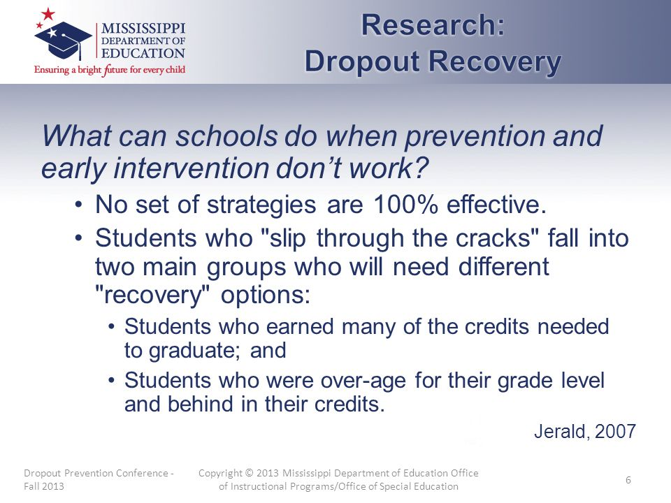 What can schools do when prevention and early intervention don't work? No set of strategies are 100% effective. Students who