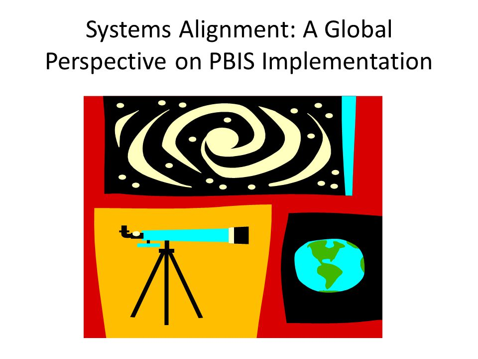 Systems Alignment: A Global Perspective on PBIS Implementation