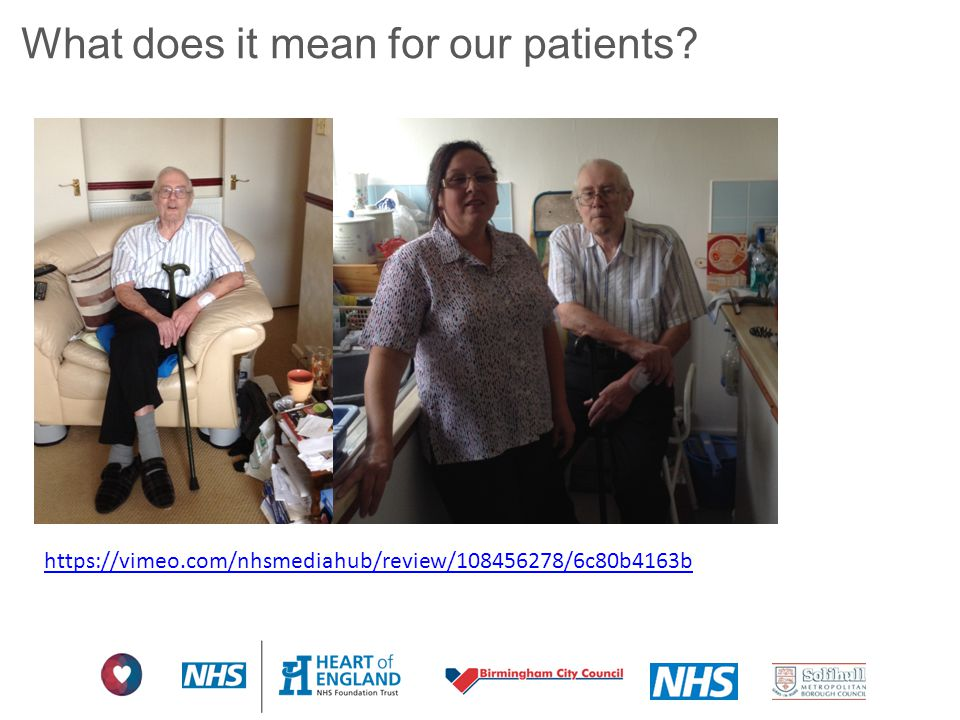 What does it mean for our patients? https://vimeo.com/nhsmediahub/review/108456278/6c80b4163b