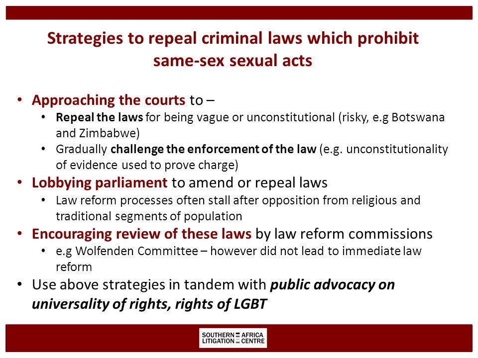 Key questions before engaging in litigation challenging criminal laws.