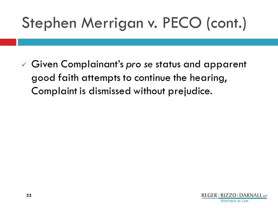 Stephen Merrigan v.