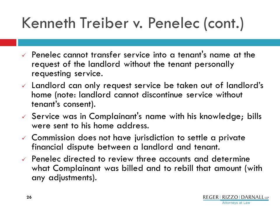 Kenneth Treiber v.