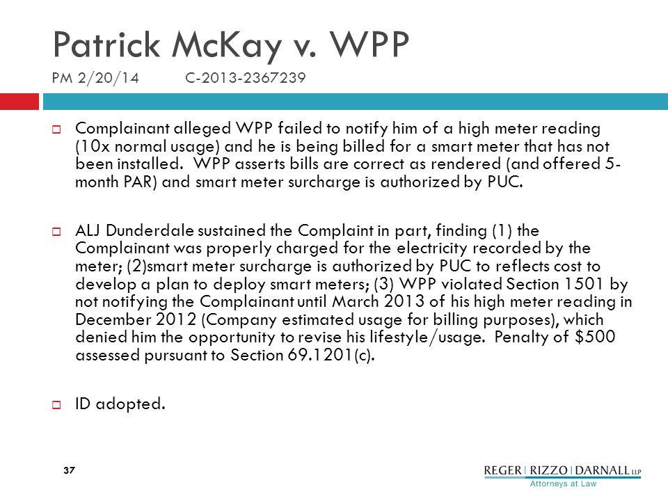 Patrick McKay v.
