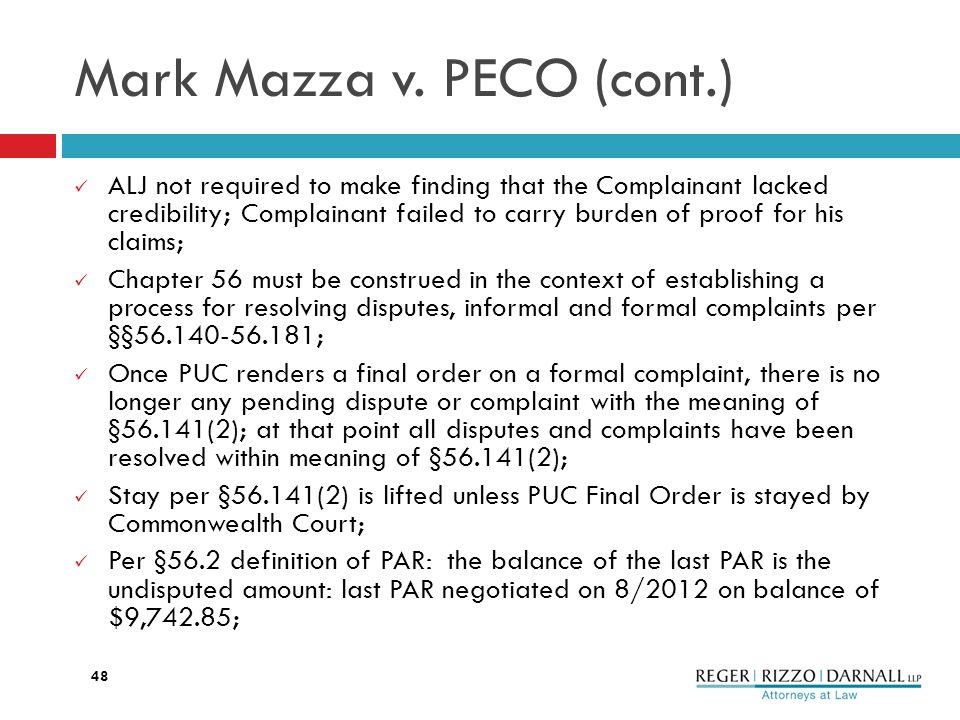 Mark Mazza v.