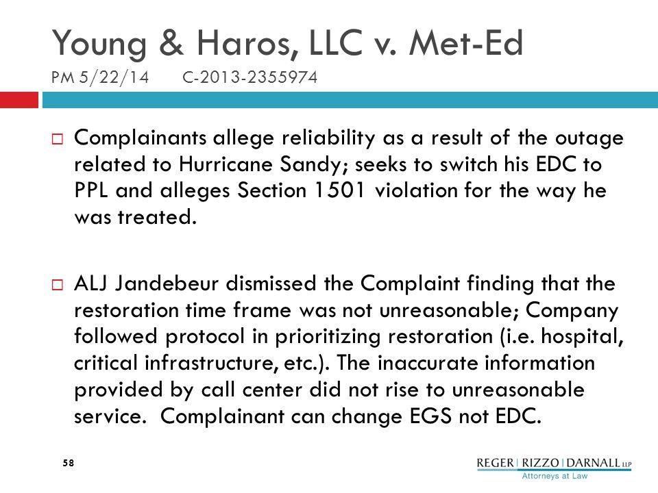 Young & Haros, LLC v.