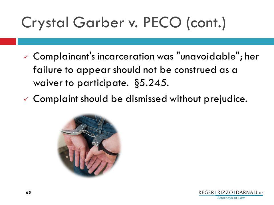 Crystal Garber v.