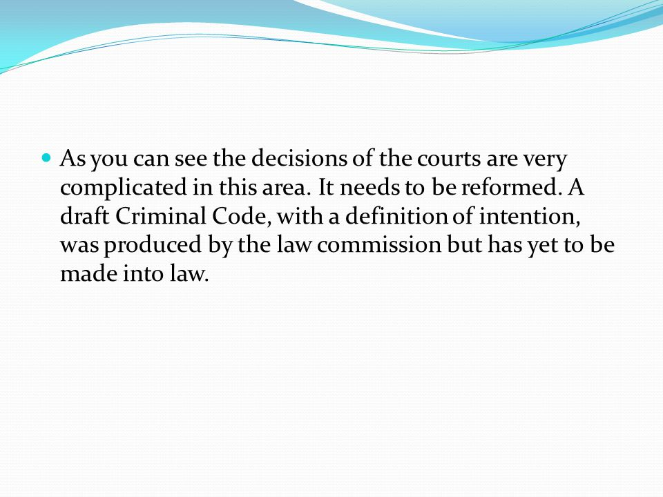 As you can see the decisions of the courts are very complicated in this area.