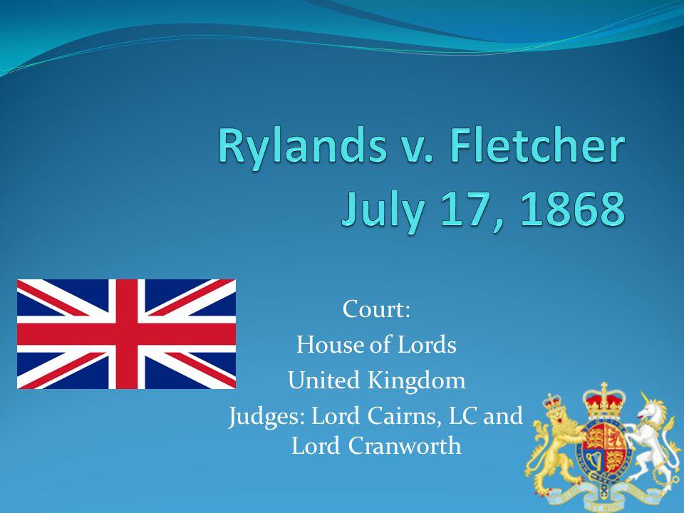 Lord Earl Cairns Lord Baron Cranworth