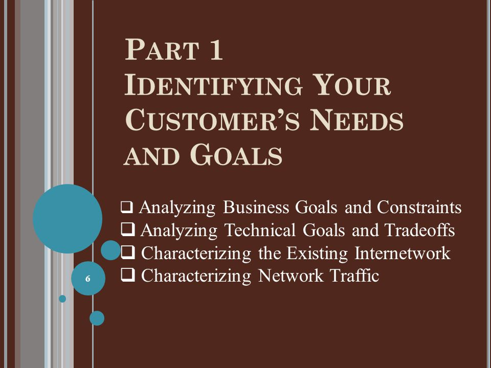 S UMMARY Characterize the exiting internetwork before designing enhancements Helps you verify that a customer's design goals are realistic Helps you locate where new equipment will go Helps you cover yourself if the new network has problems due to unresolved problems in the old network 87