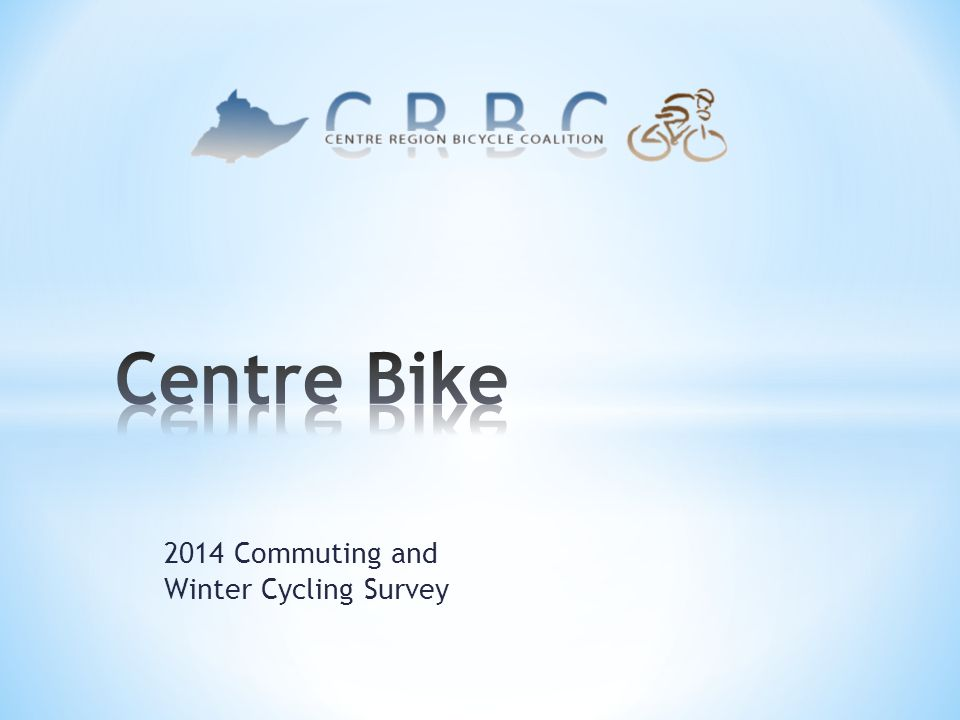 2014 Commuting and Winter Cycling Survey