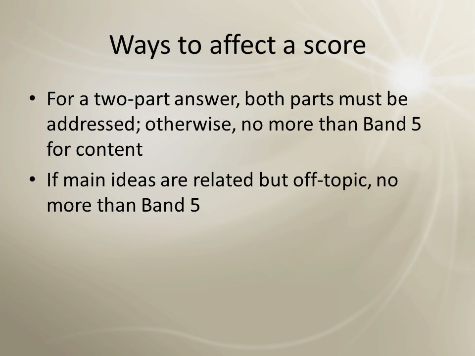 Ways to affect a score Mobiles phones have changed the way many people communicate.