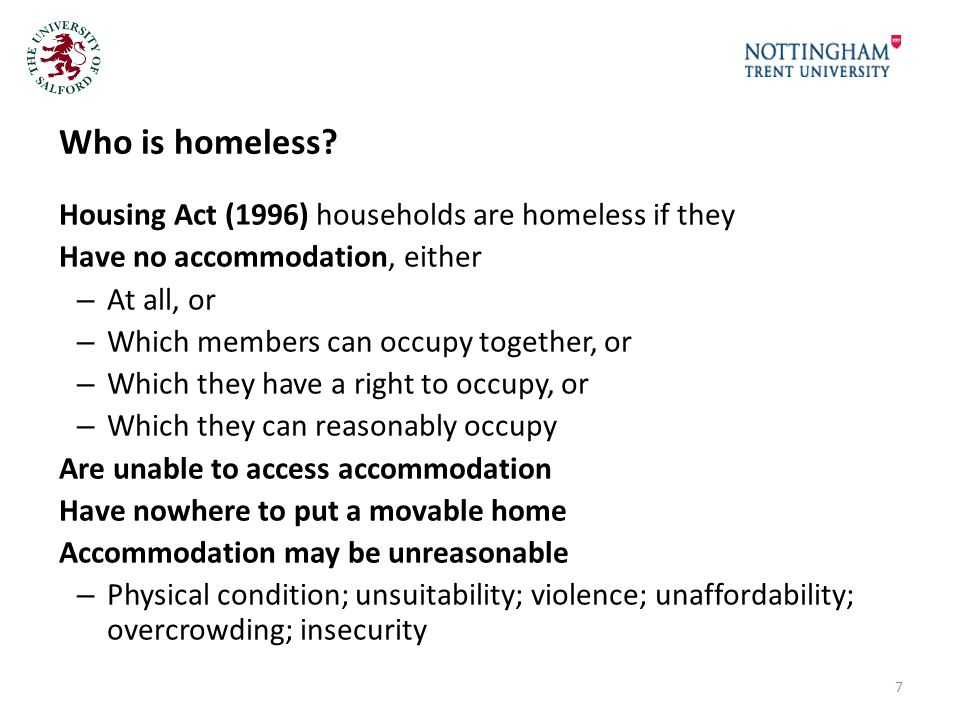 Conclusions and potential ways forward Single, multiply excluded homeless people are still treated as 'non-priority' by Councils exacerbating MEH Fleeing violence is appears to be no protection against being regarded as 'intentionally homeless' Councils still turn people away who have no 'local connection', despite assertions to the contrary.