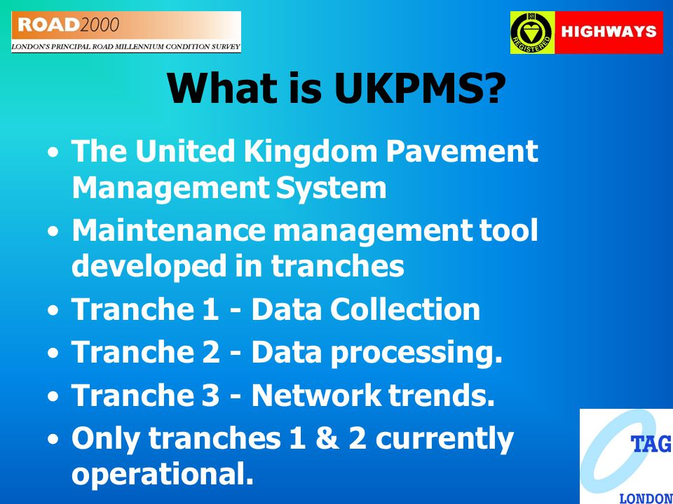 What is UKPMS.