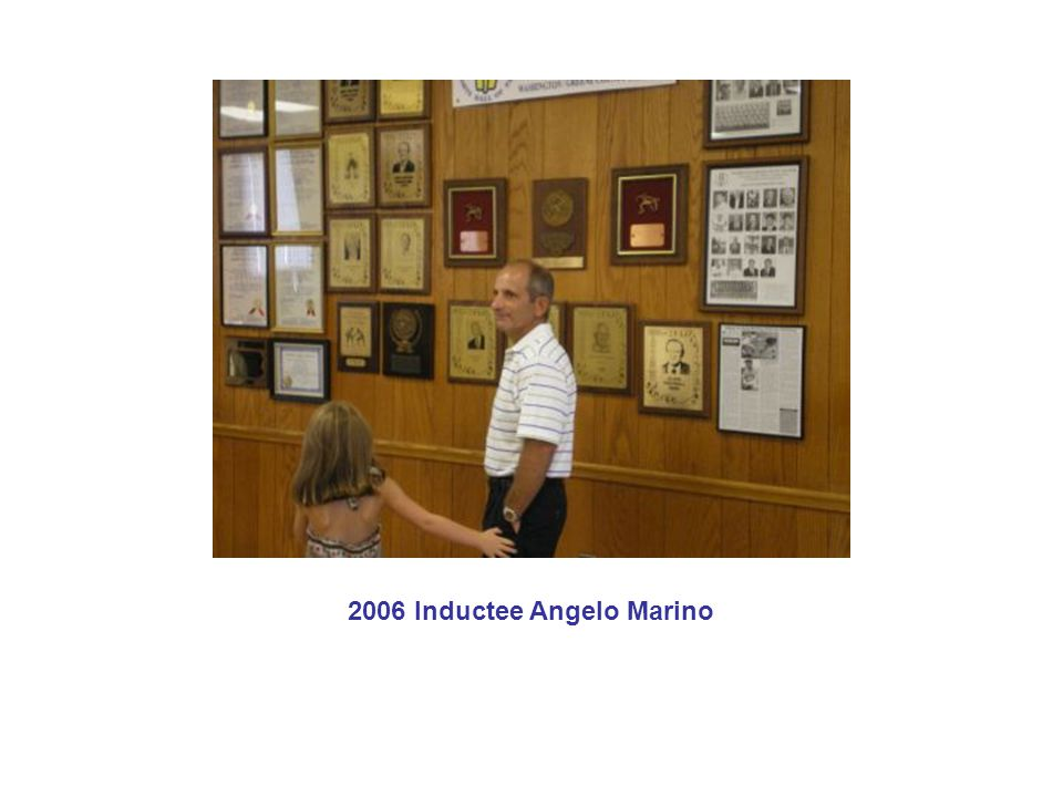 2006 Inductee Angelo Marino