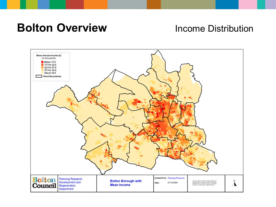 Bolton Overview Income Distribution