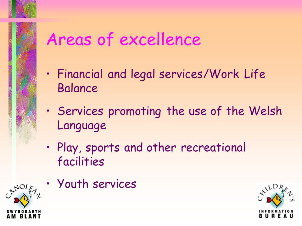 Areas for improvement Child development Staying safe Local and National services for Disabled Children and Young People