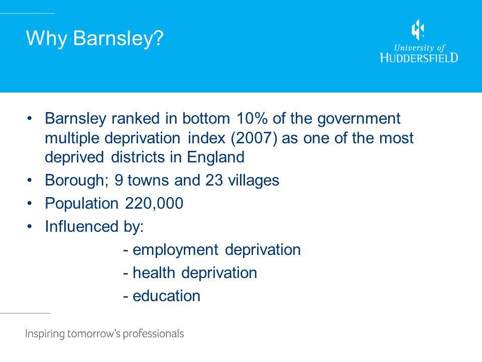 Why Barnsley.