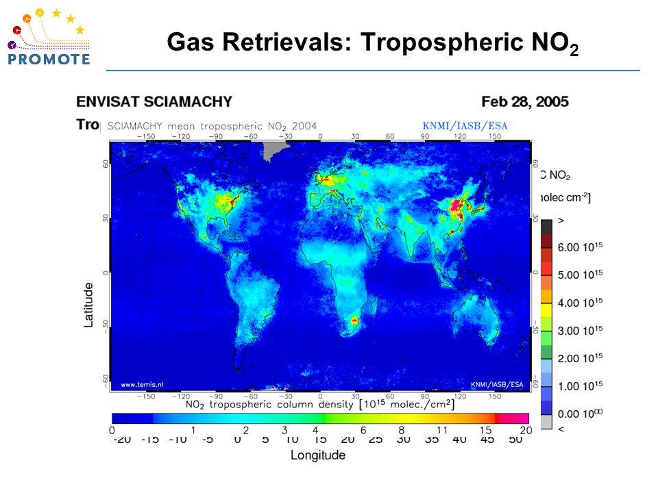 Gas Retrievals: Tropospheric NO 2