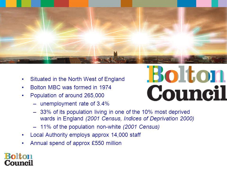 Bolton MBC - Context