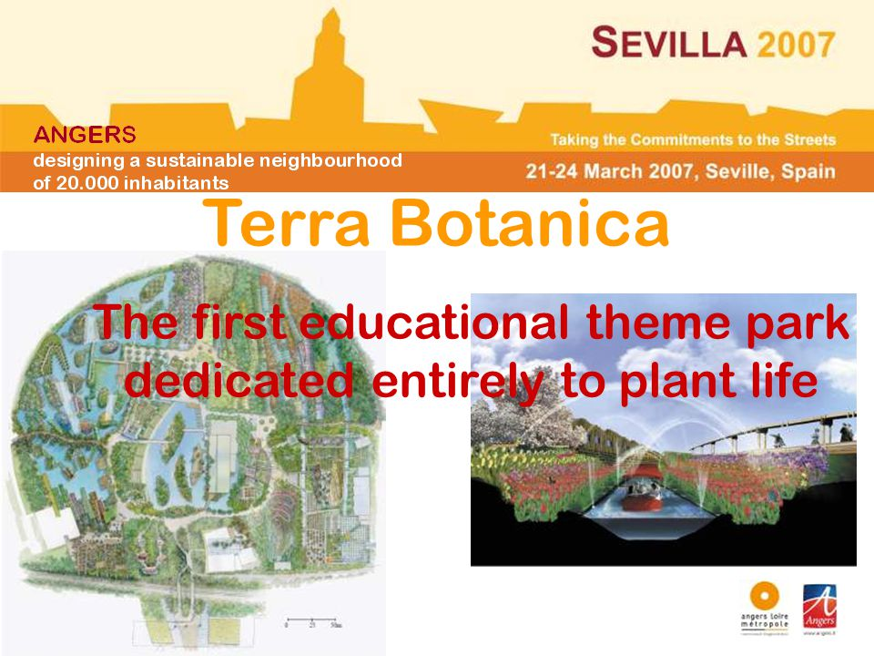 Terra Botanica The first educational theme park dedicated entirely to plant life