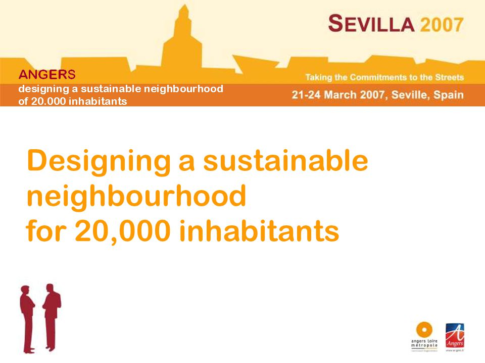Designing a sustainable neighbourhood for 20,000 inhabitants