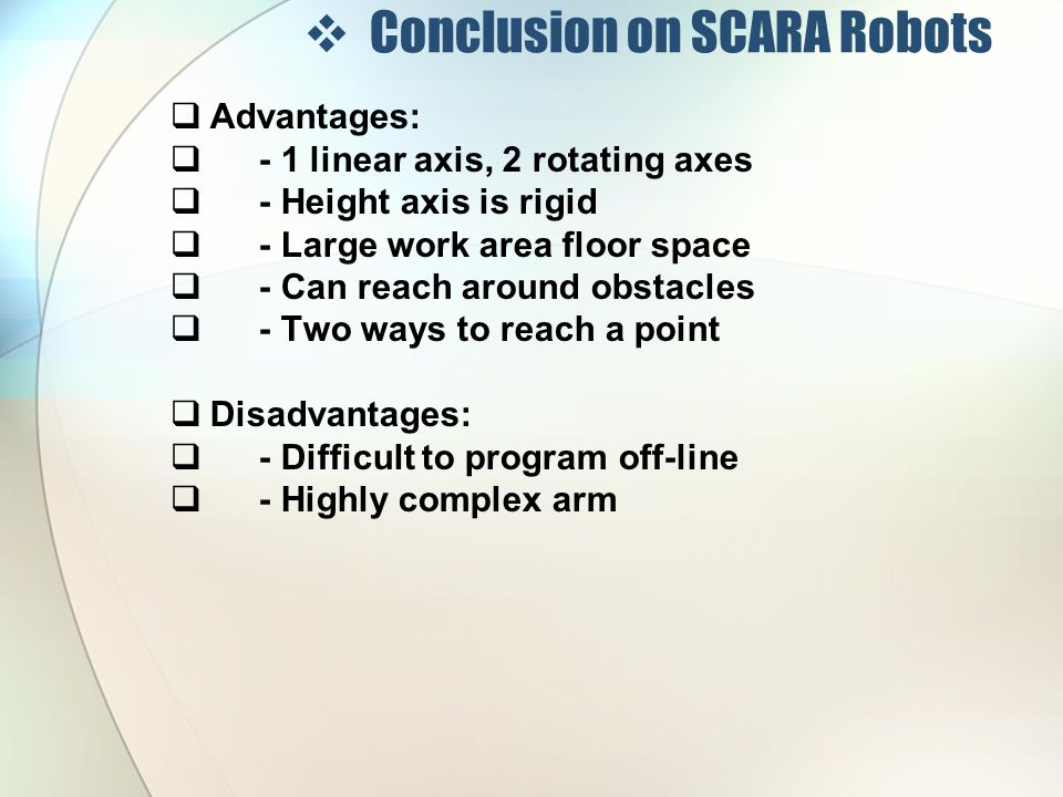 Fastest SCARA robot in World