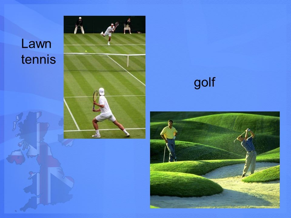 Lawn tennis golf