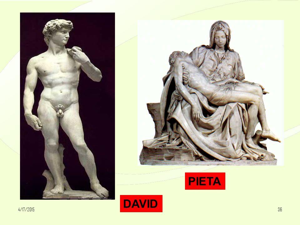 4/17/201536 DAVID PIETA