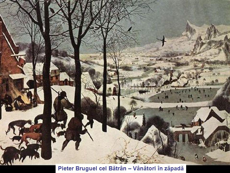 4/17/201550 Pieter Bruguel cel Bătrân – Vânători în zăpadă