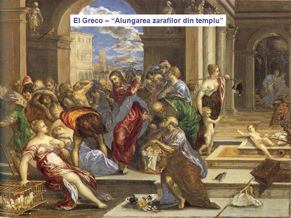 """4/17/201559 El Greco – """"Alungarea zarafilor din templu"""""""