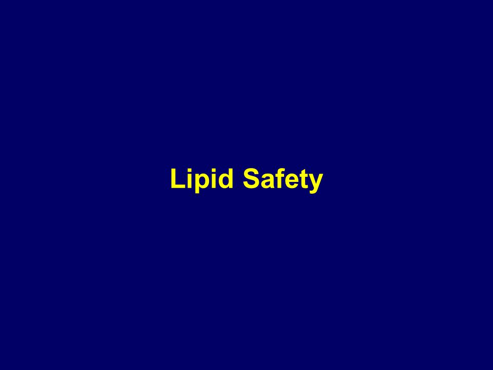 Lipid Safety