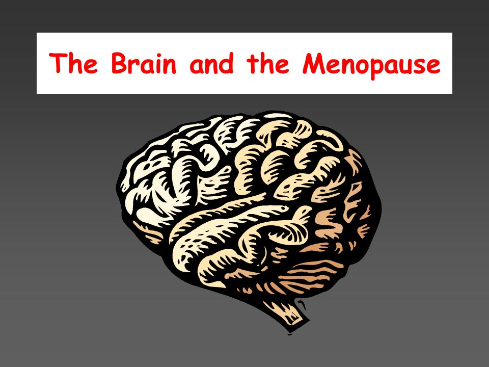 The Brain and the Menopause