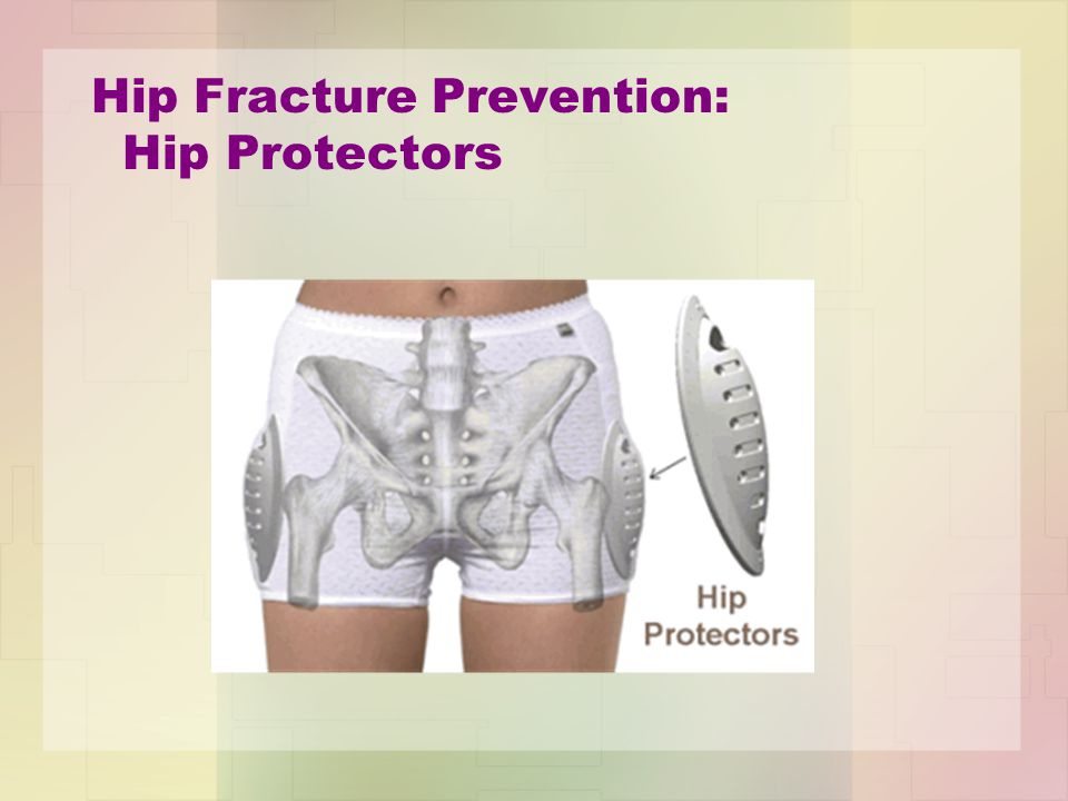 Hip Fracture Prevention: Hip Protectors